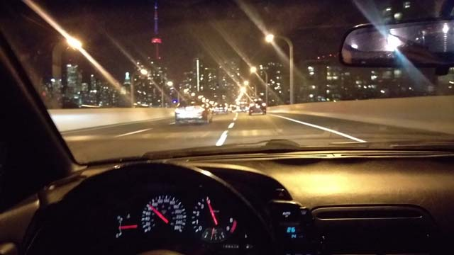 Nissan 300ZX Driving Toronto (Z32)